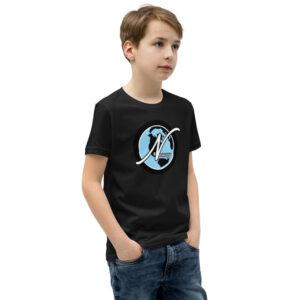 Nevuary Youth Short Sleeve tired logo T-Shirt