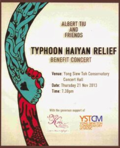 Haiyan Benefit Concert