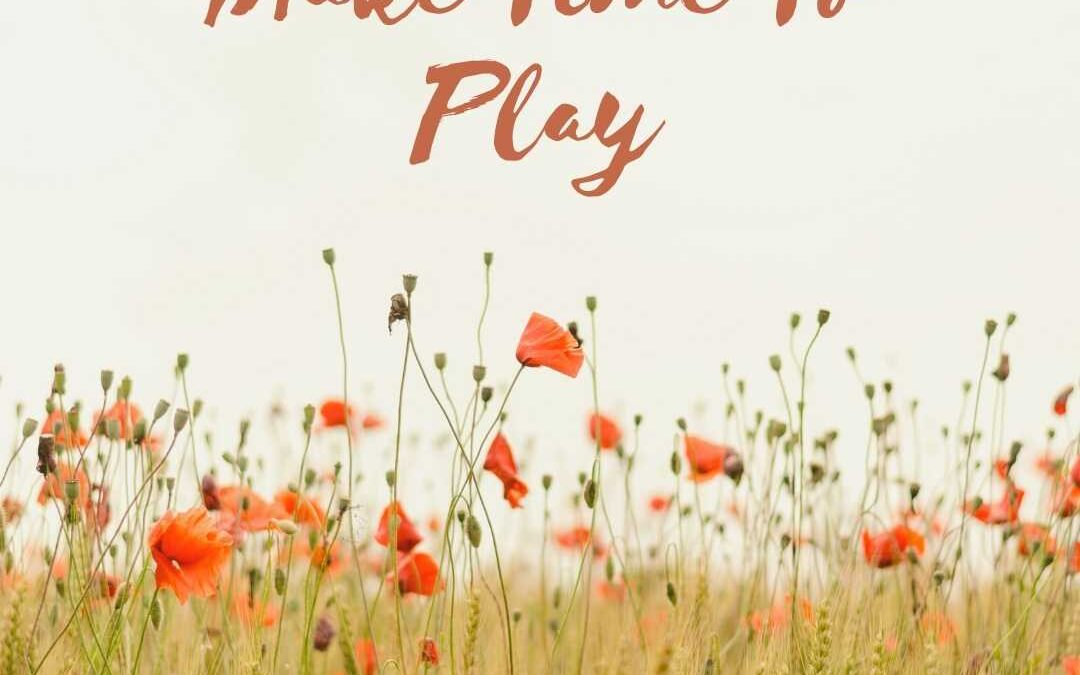 Finding Happiness: Be serious about play