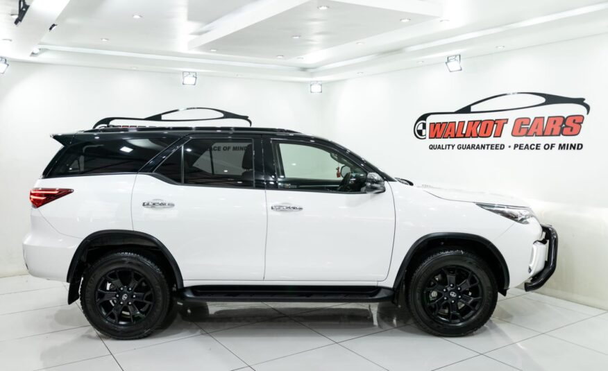 2020 TOYOTA FORTUNER 2.8GD-6 EPIC BLACK EDITION AT