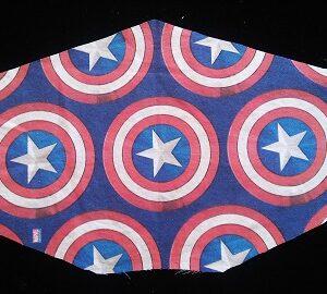 Marvel Captain America Shield Mask