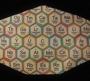 Chemical Elements Mask with Filter