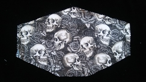 Stylish Three Layer Skull Mask