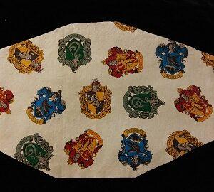 Hogwarts Houses Mask by Phoenix Raising Art