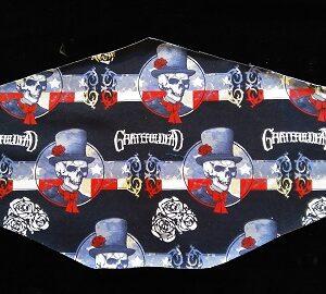 Three Layer Grateful Dead Mask
