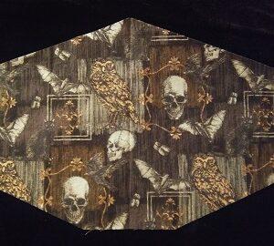 Spooky Memento Mori Mask