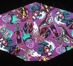 Scary Disney Villans mask for kids