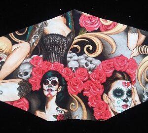 Stylish Sugar Skull Mask for Women