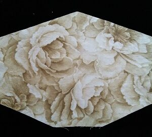 Stylish Sepia Roses Mask with Filter