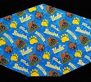 Three Layer UCLA Bruins Mask