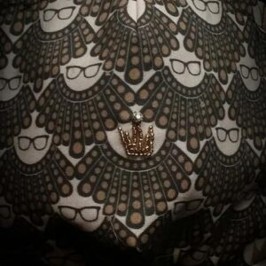 RBG Ruth's Crown mask by Phoenix Raising Art