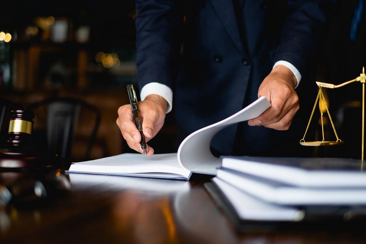 lawyer-writing