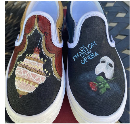 Painted Kid shoes