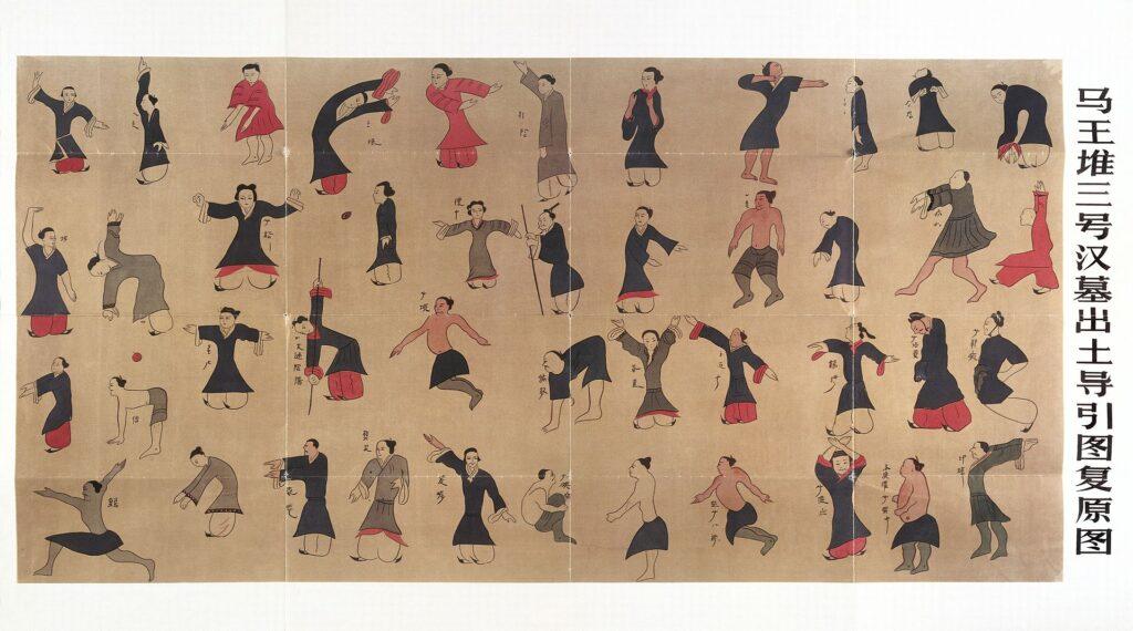 Daoyin Scroll - historical forms
