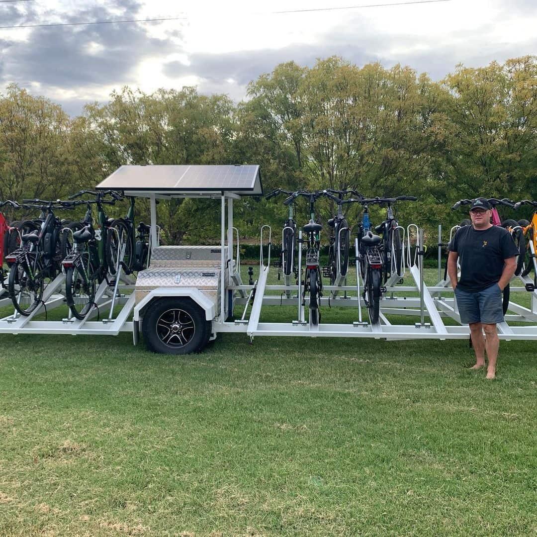 bike hire in echuca