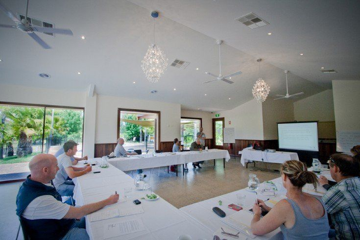 full conference room