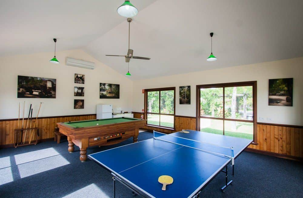 accommodation with recreation room