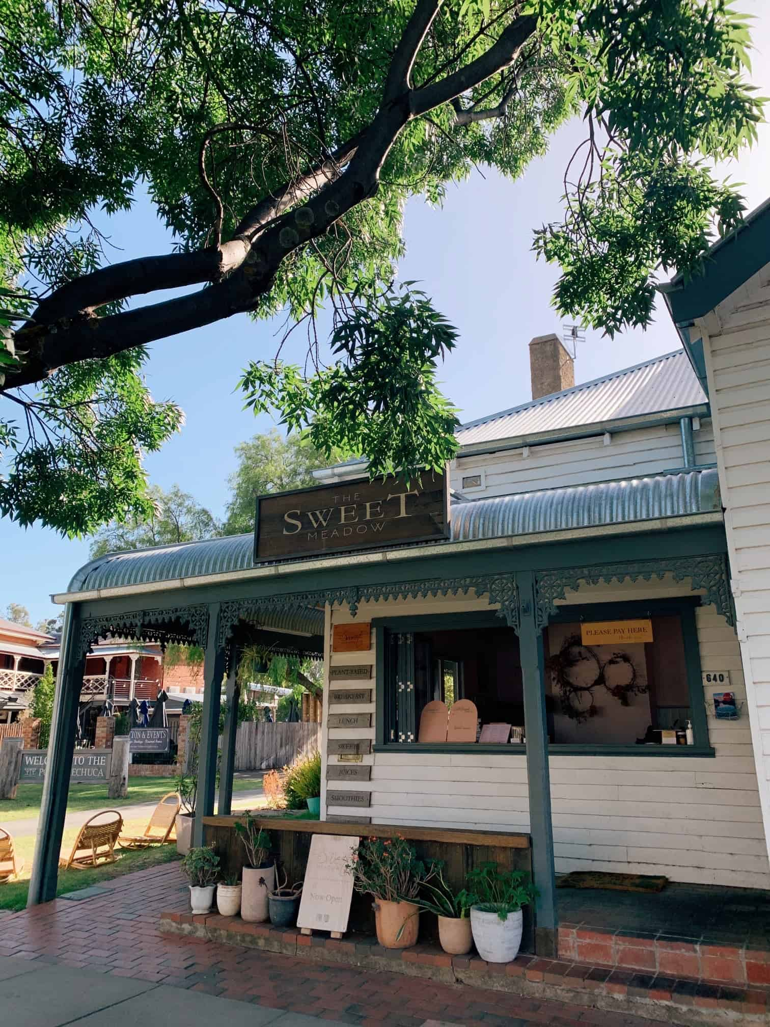 the sweet meadow storefront echuca