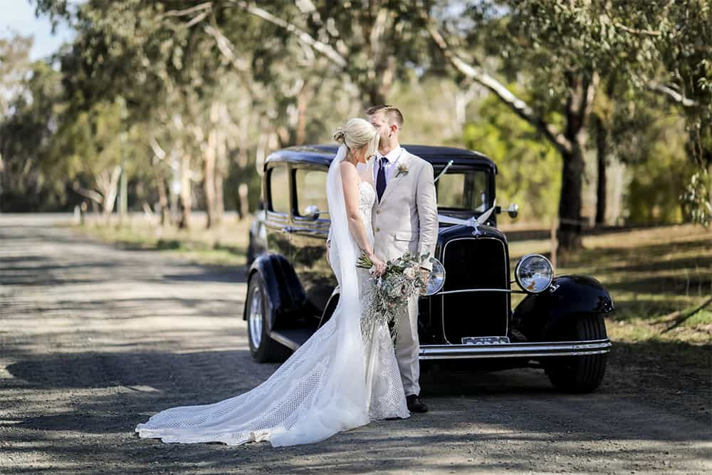 perricoota vines wedding hot rod