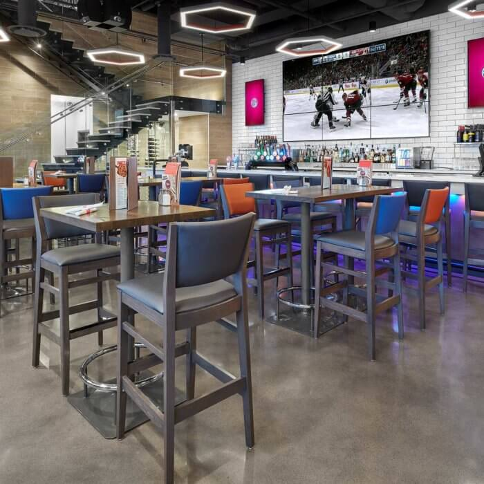Boston Pizza Ice District Project 1, Restaurant Interior Design