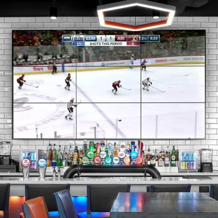 Boston Pizza Ice District Project 2, Restaurant Interior Design