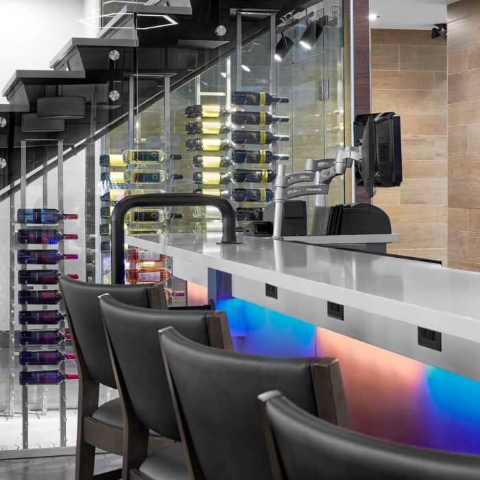Boston Pizza Ice District Project 3, Restaurant Interior Design