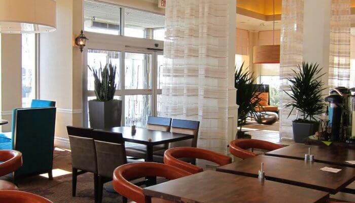 Hilton Garden West Edmonton Project 4, hotel interior design firms