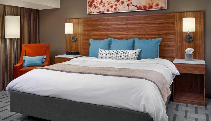 Radisson Hotel Room Interior Design, hotel interior design Edmonton