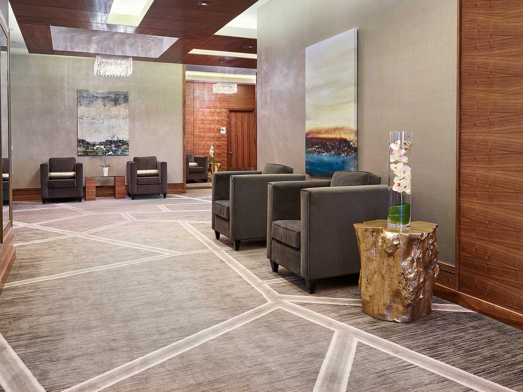Radisson Hotel Conference Center project 5, hotel interior design Edmonton