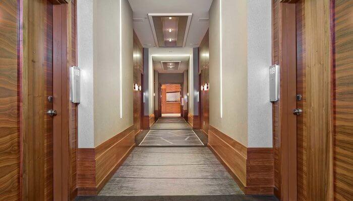 Radisson Hotel Conference Center project 6, hotel interior design Edmonton