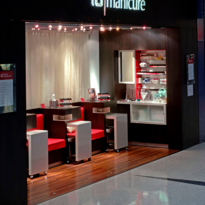 10 Minute Manicure 1 Retail Interior Design Toronto Pearson
