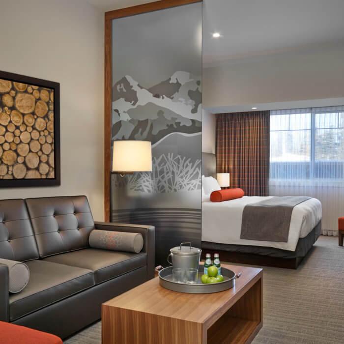 Best Western Sundre Hotel Interior Design, Suite Bedroom Guest Room Hotel Sofa