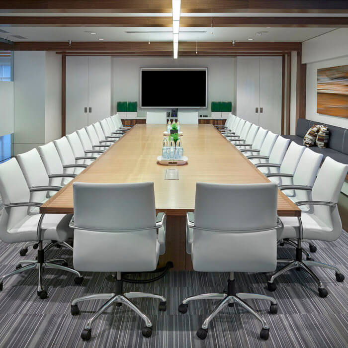 Brookfield Residential Office Interior Design Edmonton, Boardroom Meeting Room 2