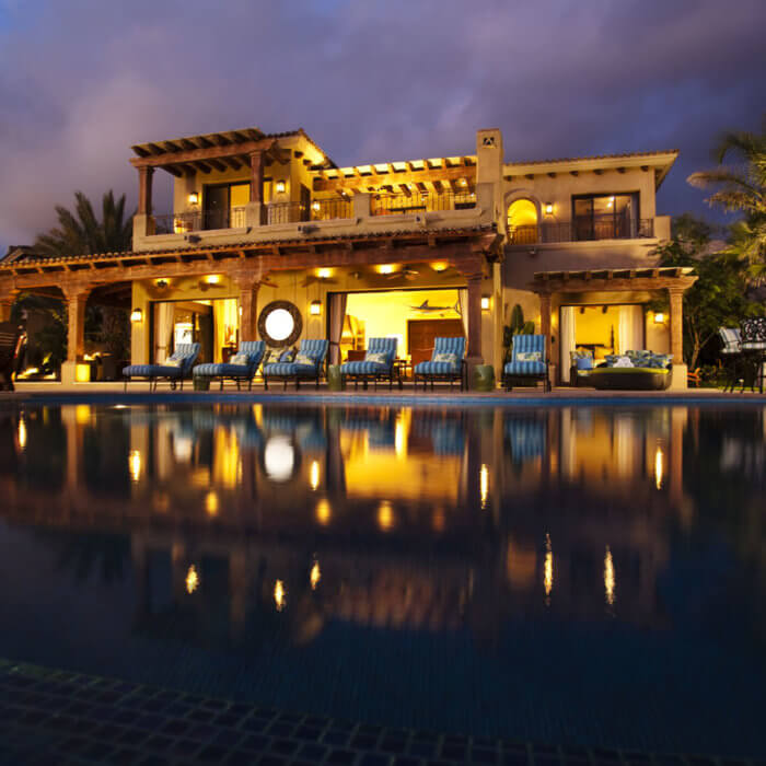 Cabo Resort Interior Design Residence Infinity Pool Mexico Casita