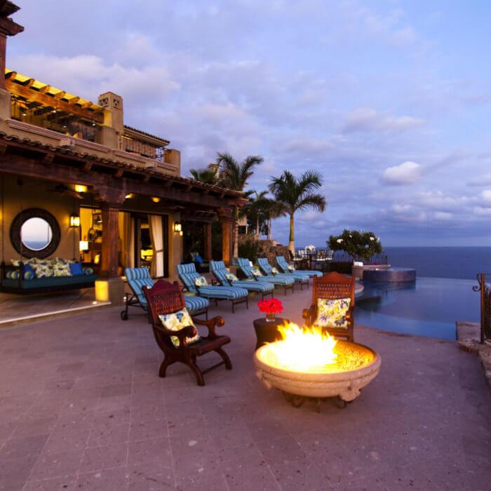 Cabo Resort Interior Design, Residence Infinity Pool Mexico Casita Sea of Cortez