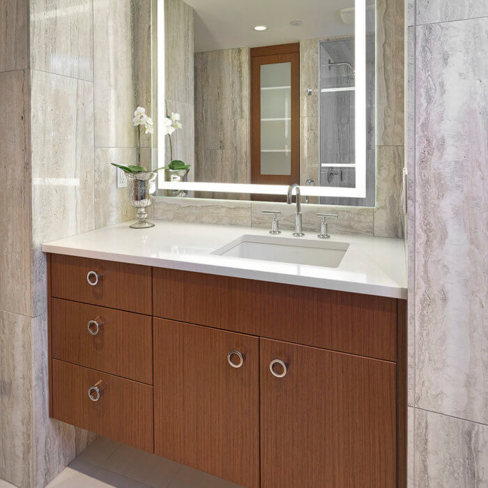 Private Residence Washroom Luxury Condo Interior Design