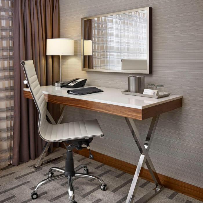 Radisson Calgary Airport Hotel Interior Design Conference Center Lobby Lounge 7