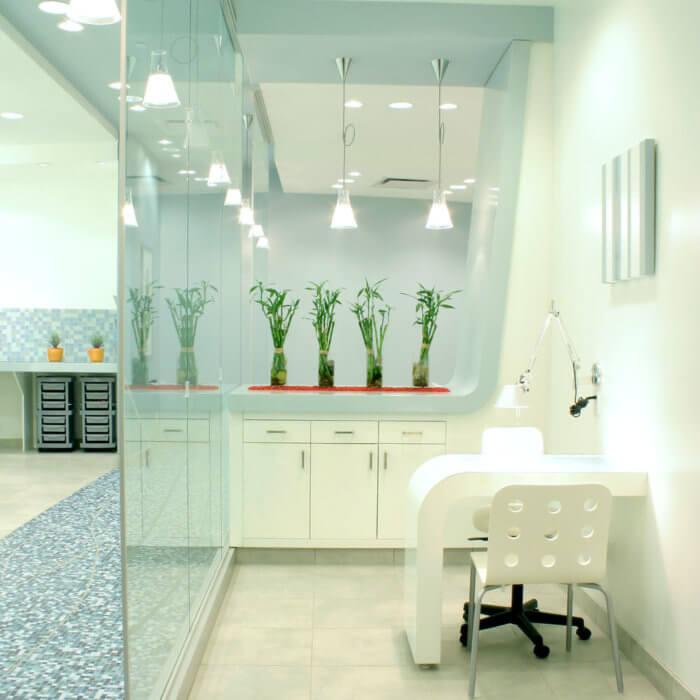 Rain Salon Interior Design West Edmonton Mall 4