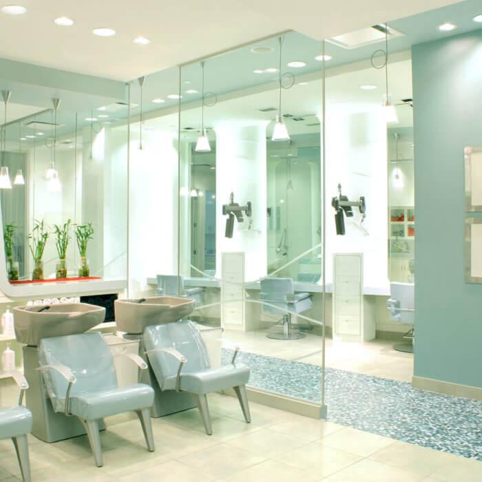 Rain Salon Interior Design West Edmonton Mall