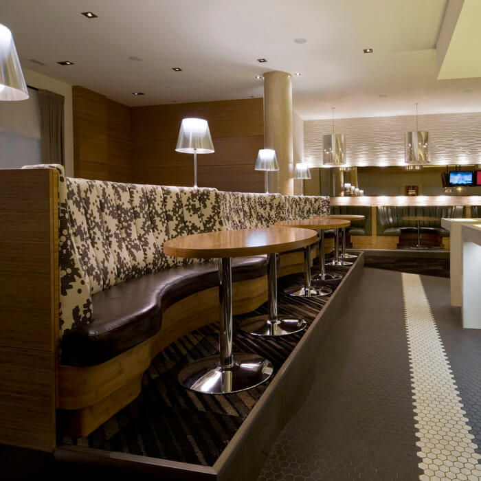 Sheraton Four Points ,Rics Grill Calgary Restaurant Interior Design