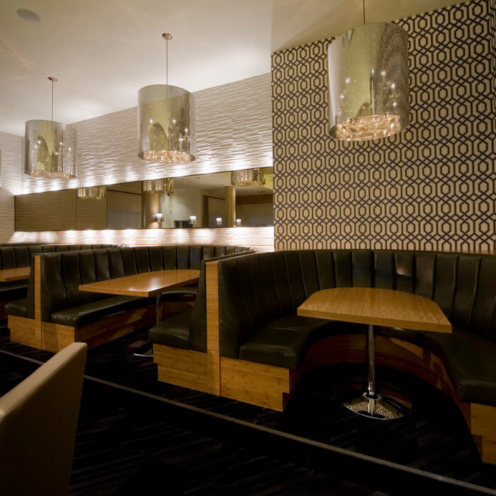 Rics Grill Calgary Sheraton Four Points Restaurant Interior Design Calgary