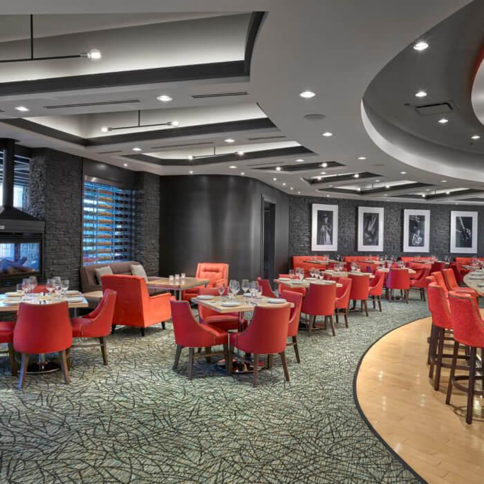 SC Restaurant Interior Design River Cree Bar Dining Room Gaming Food and Beverage 3