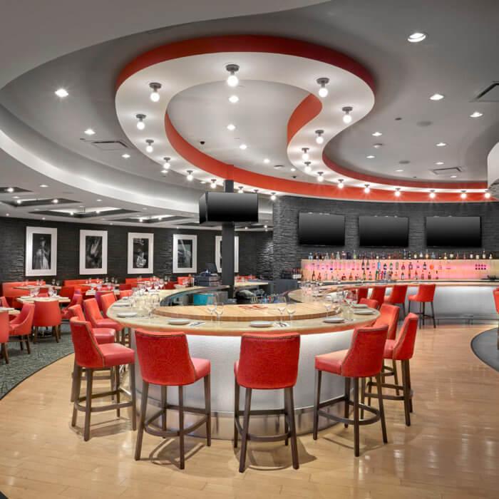 SC Restaurant Interior Design River Cree Bar Dining Room Gaming Food and Beverage 4