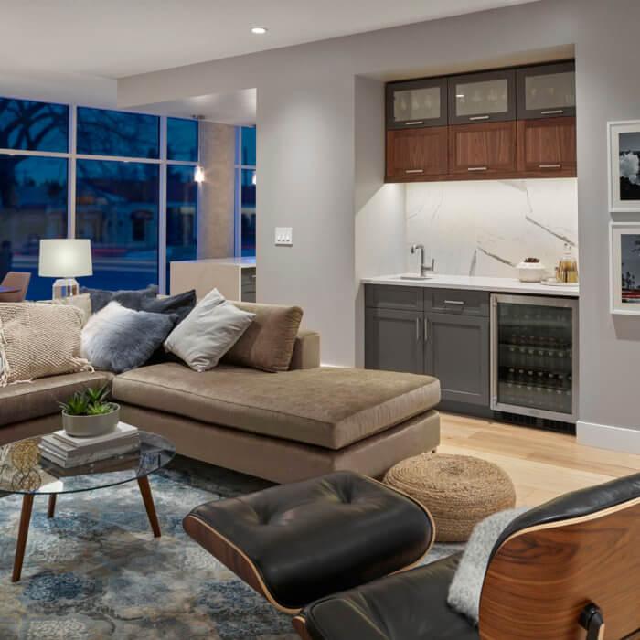 West Block Show Suite Multi Family Interior Design Luxury Condo Edmonton