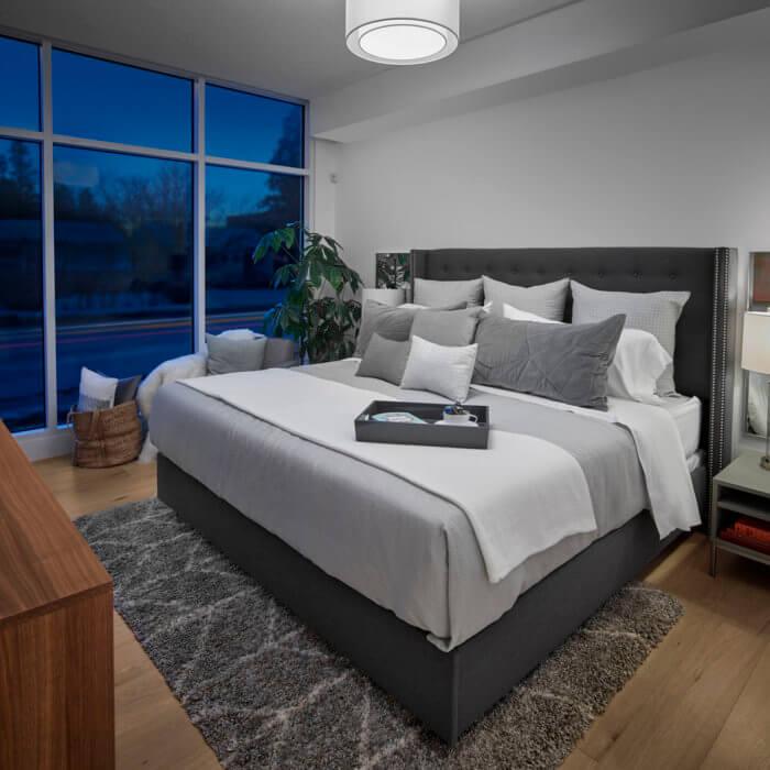 West Block Project Show Suite Multi Family Luxury Condo Interior Design Edmonton