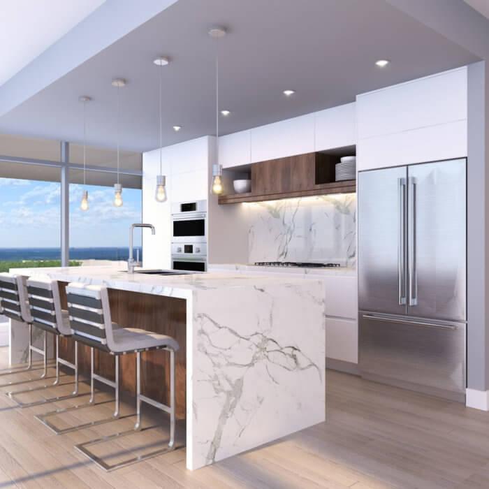 West Block Suite Kitchen, interior design companies in Edmonton