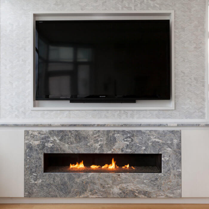Yaletown Residence Fireplace Interior Design Firms Vancouver