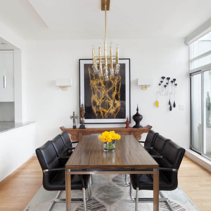 Yaletown Residence Interior Design Vancouver Dining Room