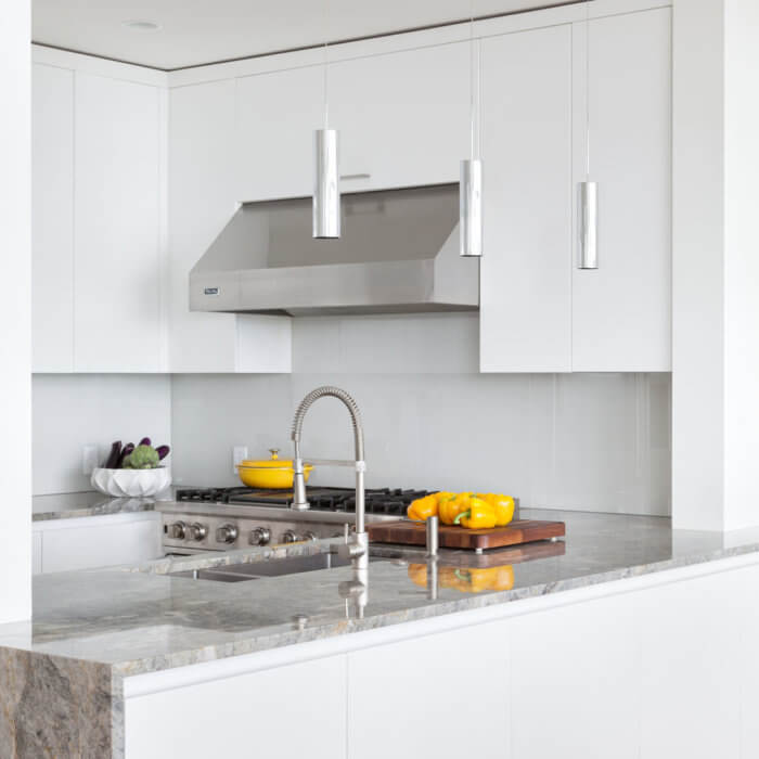 Yaletown Residence Interior Design Firms Vancouver, White Kitchen