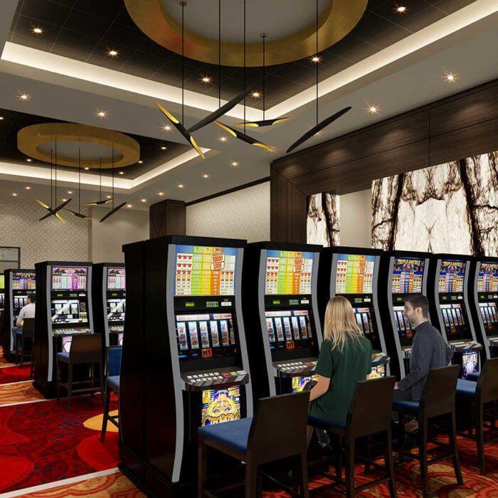 River Cree Resort Casino Slots Interior Designed by Jennifer Jordan